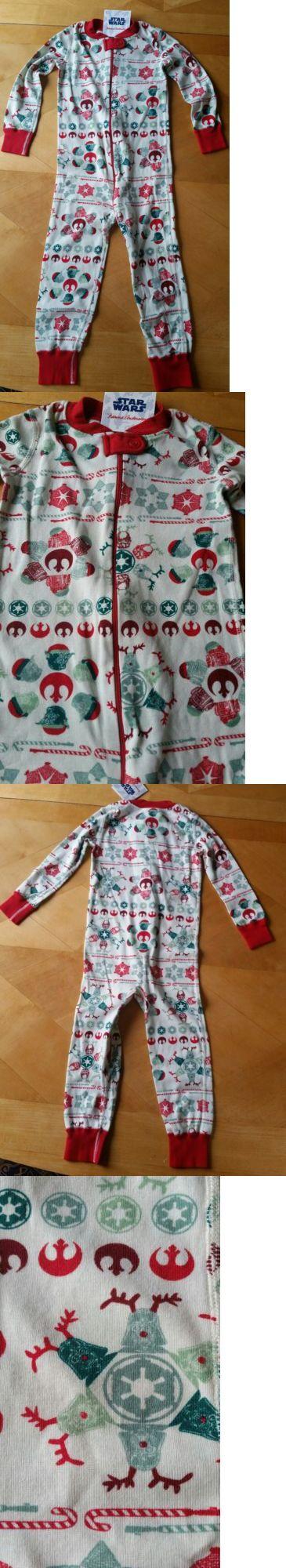 Sleepwear 147336: Nwt Hanna Andersson Star Wars Holiday Snowflake Zipper Sleeper Pajamas 90 3T 3 -> BUY IT NOW ONLY: $39 on eBay!