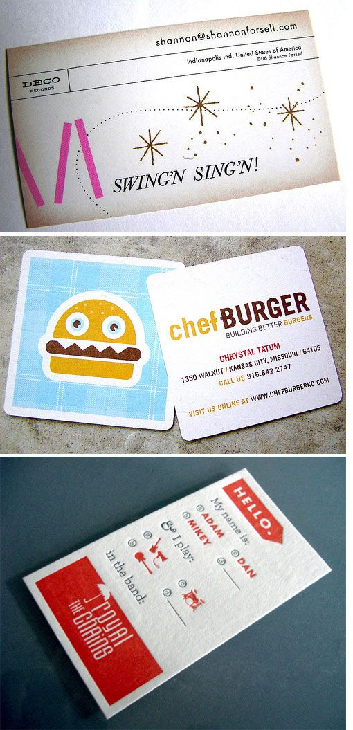 35 best Inspiration - Business Cards images on Pinterest | Carte ...
