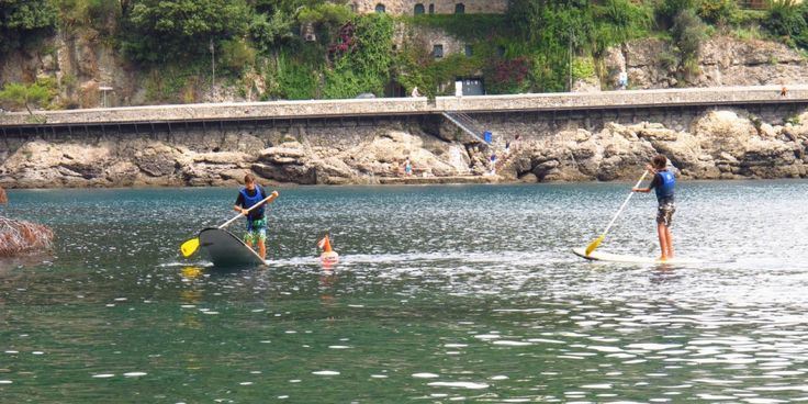 Learn to Paddleboard in Portofino's Marine Protected Area
