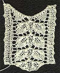 Lace knitting patterns, Lace and Home on Pinterest