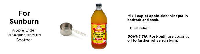 apple-cider-vinegar-uses-sunburn