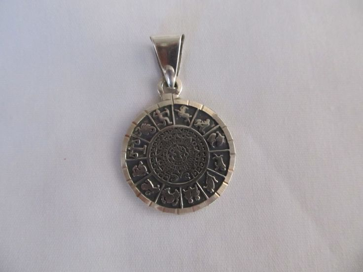 zodiac silver medallions - Google Search