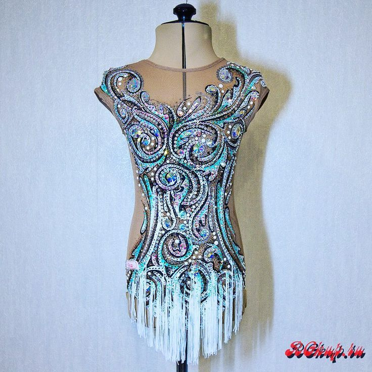 """The name of my new, just finished RG leotard is """"Crystal"""". Welcome to like and comment#rg #rgkup #pinterest #rhythmics #ritmica #rhythmicgymnastics #gymnast #gymnastics #gymnasticslife #handmade #costume #body #outfit #dress #sport #sportswear #dancewear #leotard #sale"""