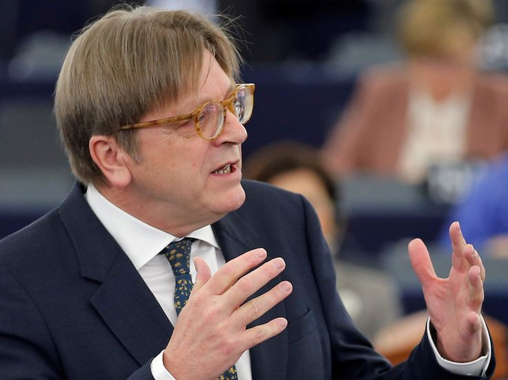 "Jeremy Corbyn must be part of Brexit negotiations says Guy Verhofstadt - LONDON — Jeremy Corbyn should be part of the UK's Brexit negotiating team after Theresa May lost her majority in parliament, a senior EU official has said.  Guy Verhofstadt told the Independent that the general election result was ""a rejection of Theresa May's vision for a hard Brexit,"" and that negotiations should include ""diverse opinions.""  The European Parliament's Brexit coordinator also said that the way Brexit…"