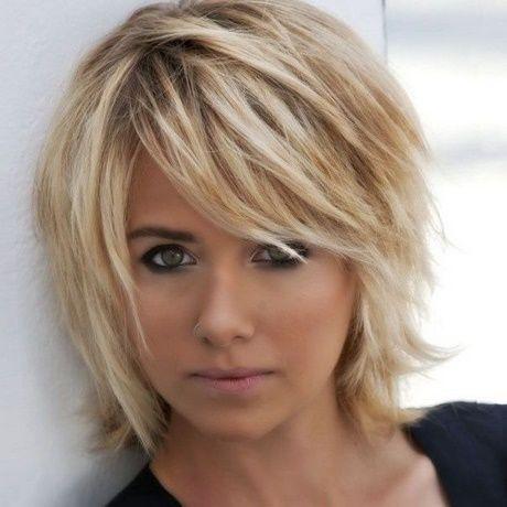 Visage rond femme coupe les cheveux   – Hair