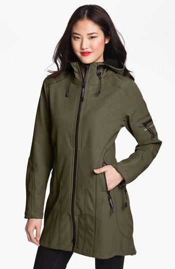 Like but its $329.- maybe a coupon? Ilse Jacobsen Hornbaek Hooded Raincoat | Nordstrom