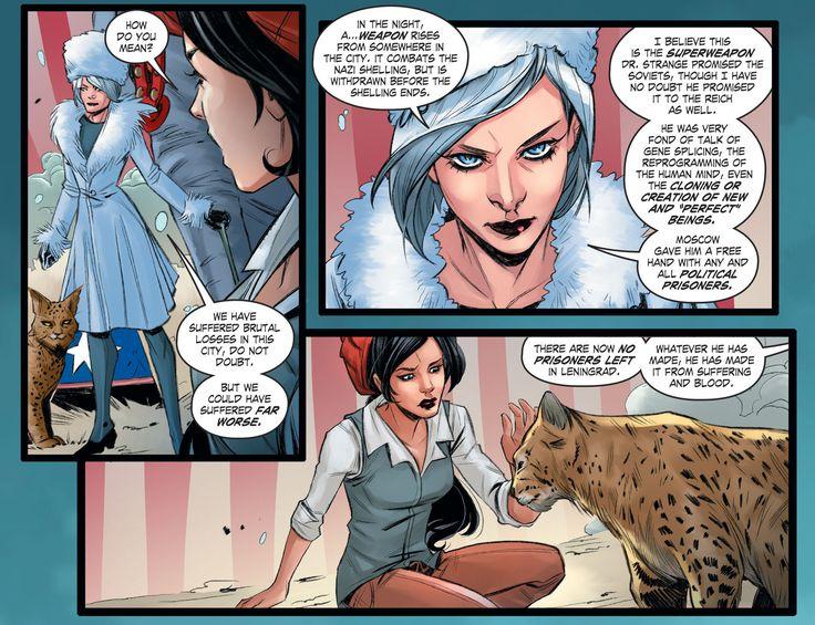 DC Comics: Bombshells Issue #85 - Read DC Comics: Bombshells Issue #85 comic online in high quality