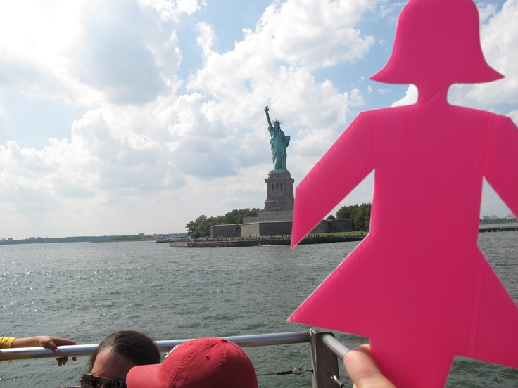 BCNA member Janelle travelled to New York City