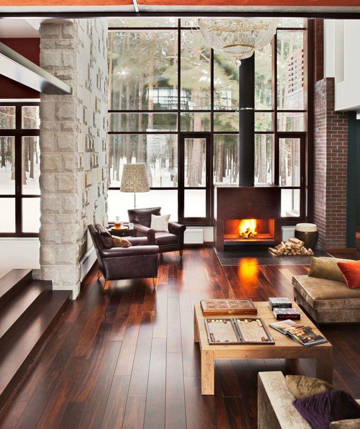 Die besten 25+ kleiner Kamin Ideen auf Pinterest Kaminbau - wohnzimmer design mit kamin