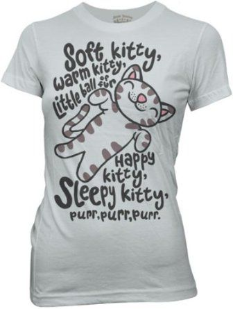This is one of my favorite t-shirts we sell from HauntedFlower.com and I wear it all the time!