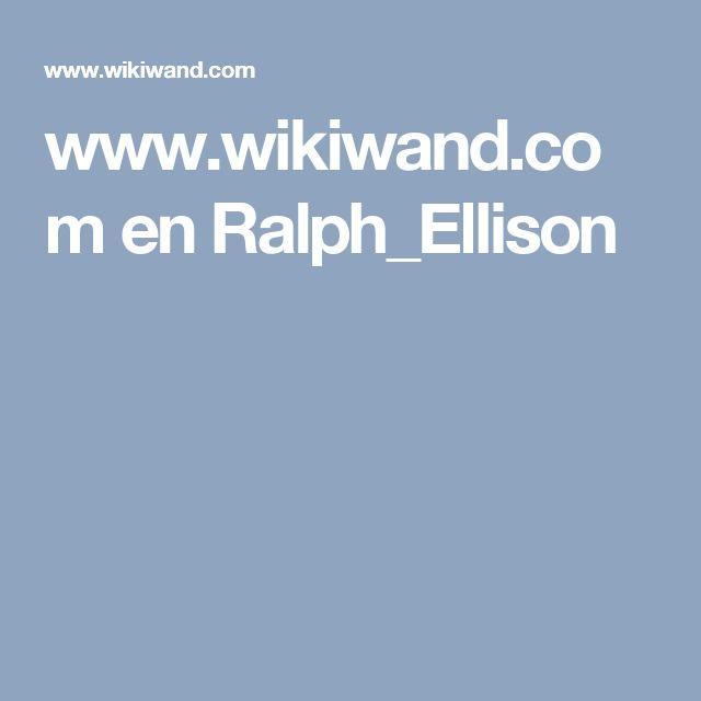 www.wikiwand.com en Ralph_Ellison