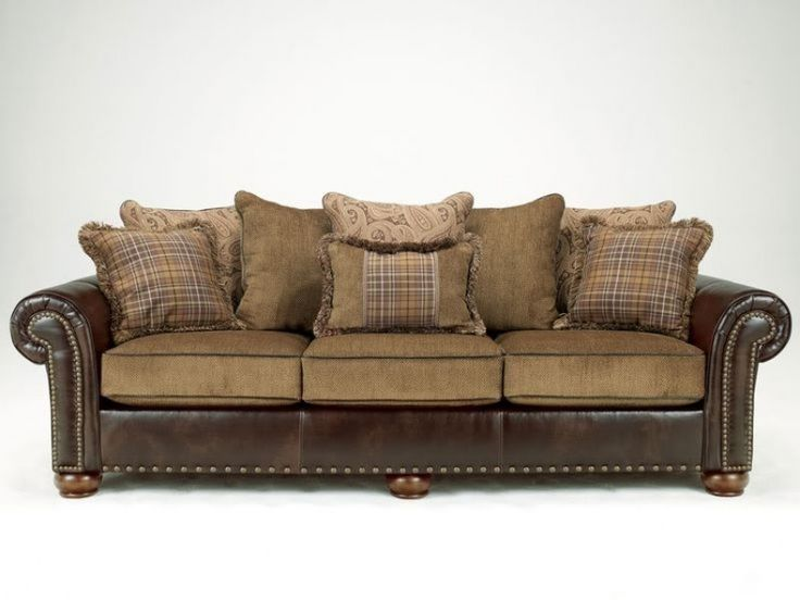 best 25  ashley leather sofa ideas on pinterest