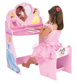 Disney Princess Vanity Table By Worlds Apart   Shop Online For Toys In NZ