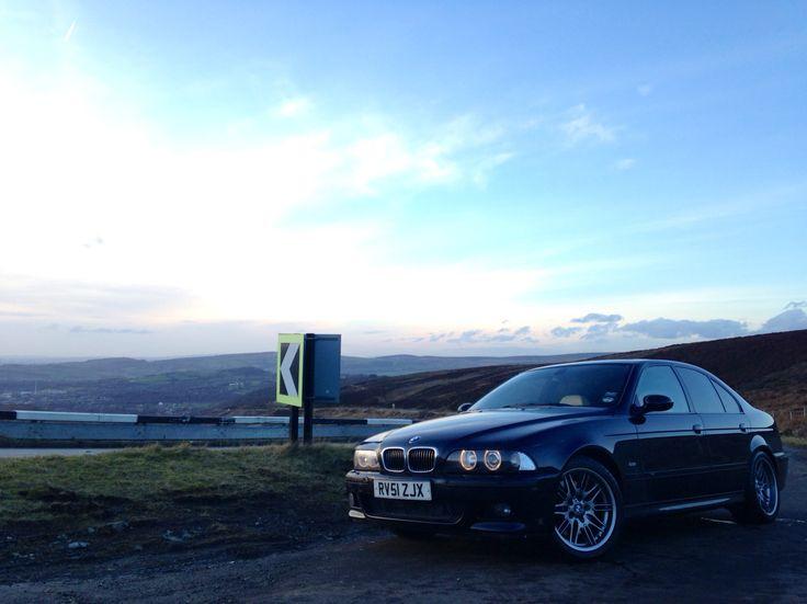 2001 BMW E39 M5 Carbon Black, Champagne Individual Interior