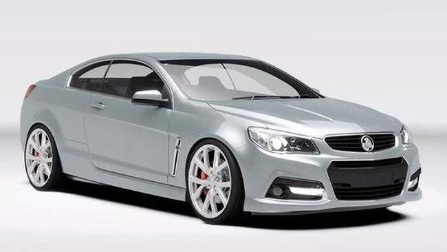 """A MODERN version of the Holden Monaro has gone """"viral"""" after a secret design study was accidentally leaked via social media."""
