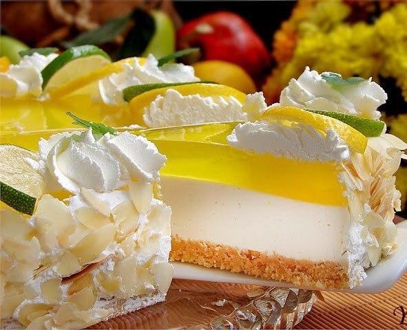 Для любителей желейных тортов!