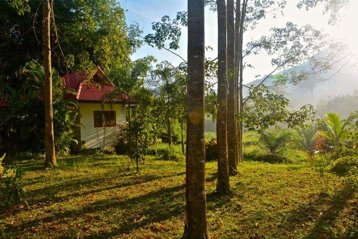 hôtel à Phang Nga, le manora garden, bungalows au coeur de la nature