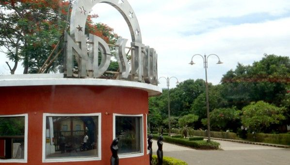 ND Studio in Karjat...  It is famous place for shooting films, ads, and TV serials.