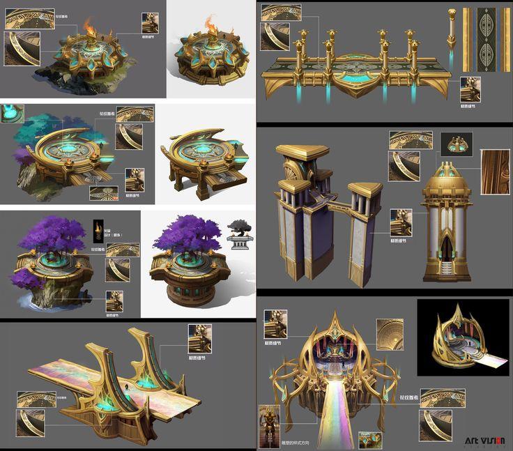 ArtStation - objects design, Dawn Pu