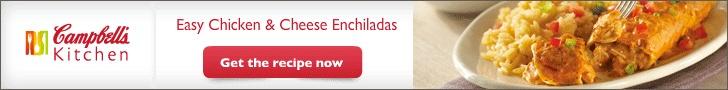 Honey-Lime Chicken Enchiladas | TidyMom