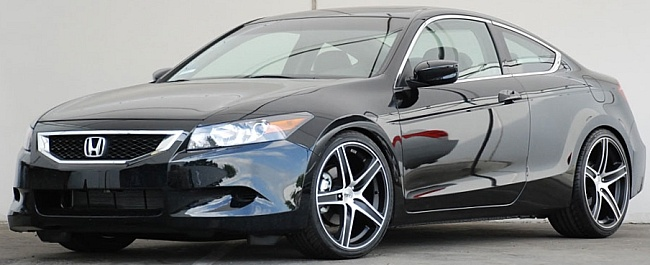 Honda Accord Custom Wheels