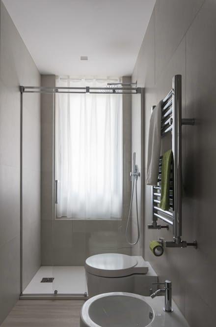 130 best Bagno images on Pinterest | Bathroom, Glass block windows ...