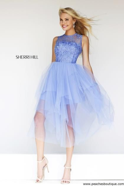 Sherri Hill Short Homecoming Dress 21239 at Peaches Boutique