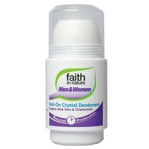 Faith in Nature 50ml Aloe Vera and Chamomile Roll On Deodorant