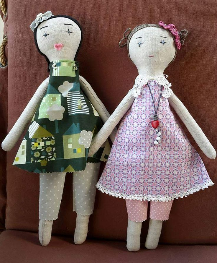 Handmade dolls by Katerina
