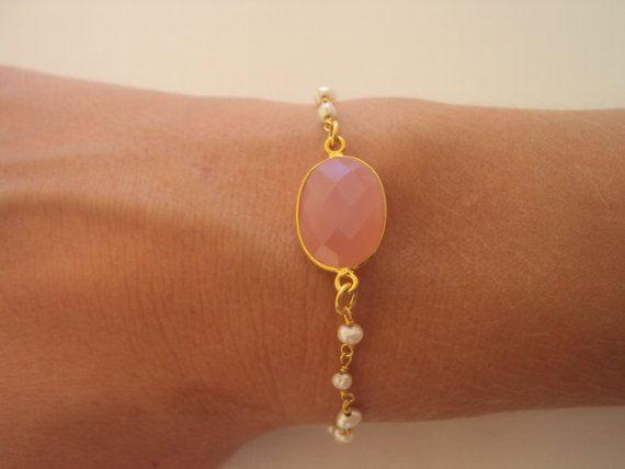 Gossip Girl Jewelry  Gold Bracelet  Dainty by VasiaAccessories