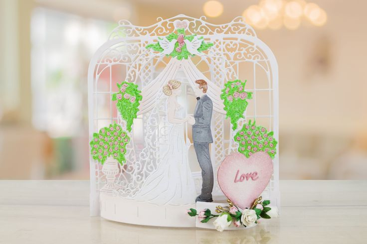 Tattered Lace Flectere is a new range which allows you to create some of the most stunning dimensional scenes ever seen in the world of home die cutting! For more information visit: www.tatterelace.co.uk