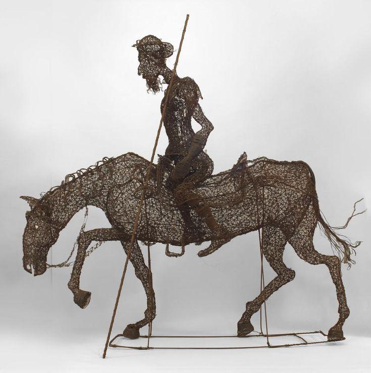 Spanish Renaissance figure life-size figure wire