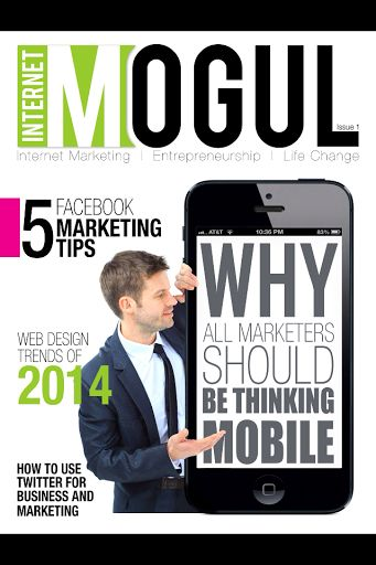 FIRST ISSUE FREE & FREE 90 DAY TRIAL - The first issue of Internet Mogul Mag is free, and you can get other free issues by downloading the app, and subscribing free for 90 days. Cancel anytime you like.Internet Mogul Magazine is a quarterly publication that reveals effective Internet marketing tips and strategies for both beginner and veteran Internet entrepreneurs alike. Inside you'll find exclusive content from top Internet marketing experts and business entrepreneurs offering the keys ...