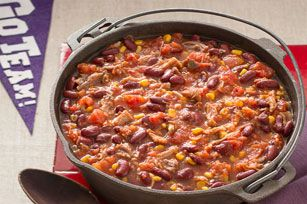 """Pulled Pork Chili!! This recipe is absolutley amazing and puts a different twist on the cassic """"chili"""""""
