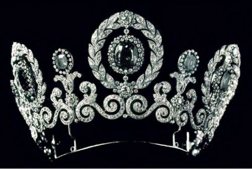 Tiara of the Grand duchess Maria Pavlovna of Russia, wife of Prince William of Sweden
