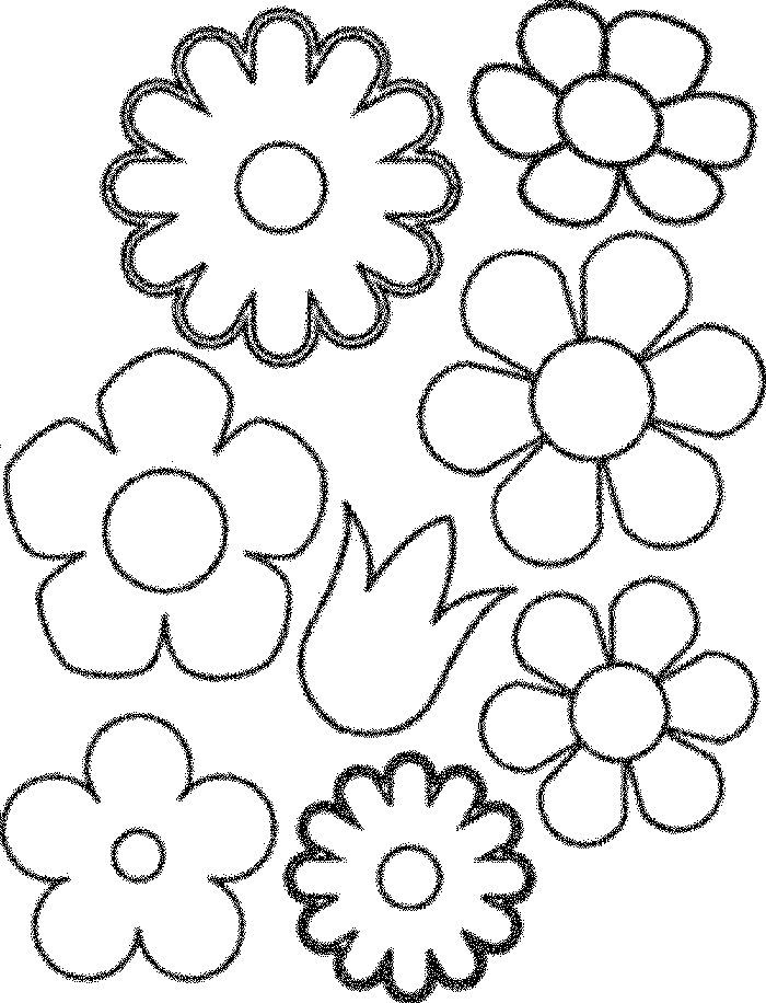 16++ April showers bring may flowers coloring page download HD