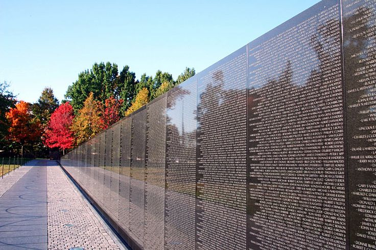 Vietnam War Memorial ~ Washington, DC | Places I've been | Pinterest