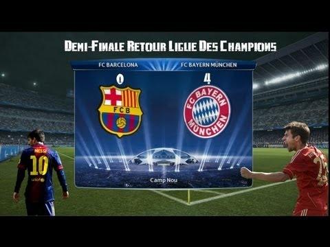 FOOTBALL -  PES 2013 Ligue Des Champions: FC Barcelone - Bayern de Munich match retour - http://lefootball.fr/pes-2013-ligue-des-champions-fc-barcelone-bayern-de-munich-match-retour/