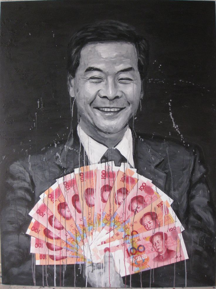 Mr. Leung Chun Ying 2012  160 x 120cm Acrylic on canvas