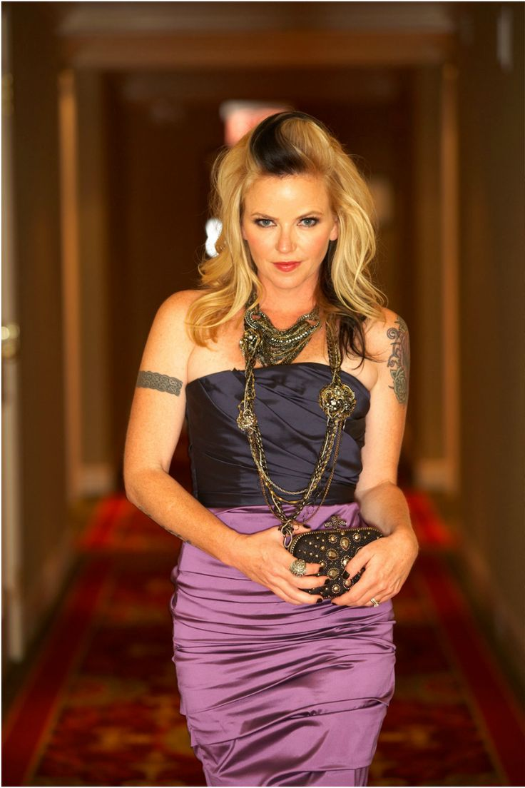 Kay Hanley Letter To Cleo Purple Strapless Dress