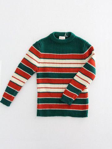 Vintage Children's Sweater / New Old Stock - 86 Vintage
