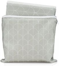 Sophisticated Splat Mat - By Honeyed- Modern Scallops - High Chair Floor Mat