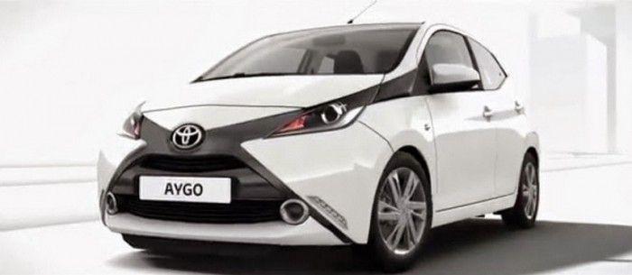 Mobil Toyota Aygo 2014