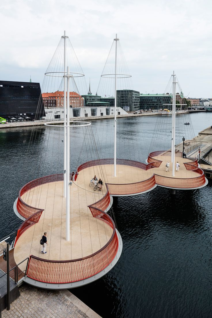 Cirkelbroen Bridge By Studio Olafur Eliasson
