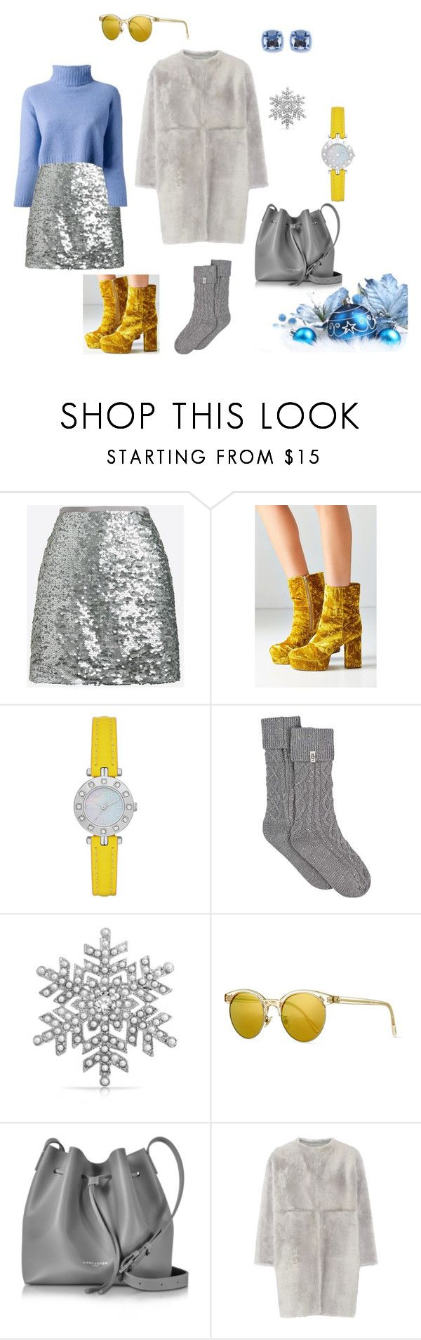 """""""Set 3"""" by natucsya on Polyvore featuring мода, J.Crew, Urban Outfitters, nenette, UGG, Bling Jewelry, Oliver Peoples, Lancaster и Karl Donoghue"""