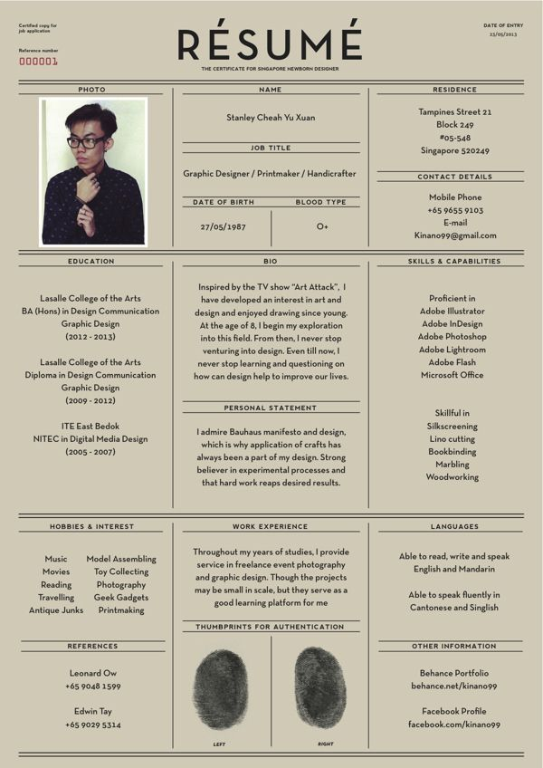 27 Beautiful Résumé Designs You'll Want To Steal // grid / layout inspiration /