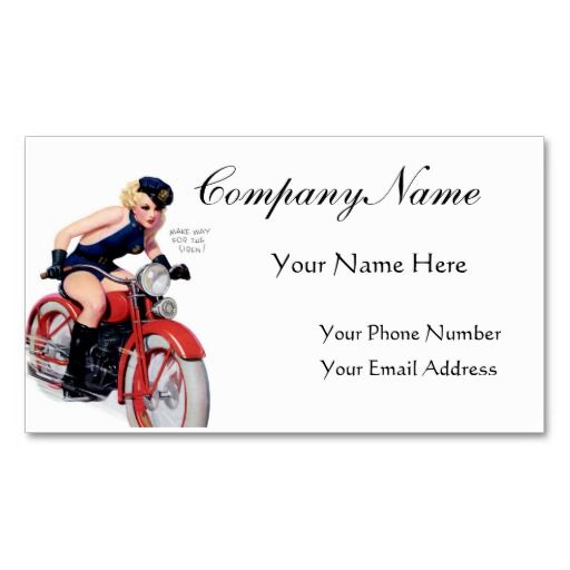 219 best pin up girl business cards images on pinterest business make way for the siren pin up girl retro art business card template colourmoves Choice Image