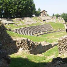 Roman Amphitheatre Autun, Burgundy, France