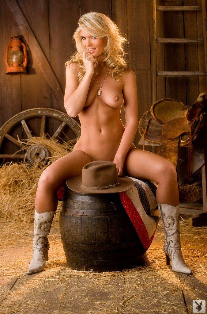 Nackte Cowgirmädchen Bilder