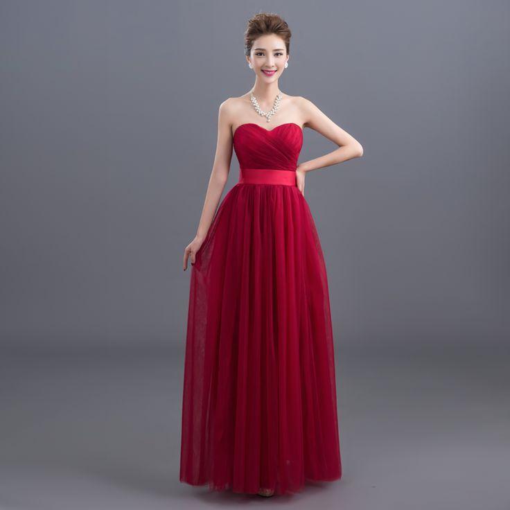 Banquete Vestido, Vino Vestido, Tamaño Vestido, Noche Rojo, Noche Información, Vestidos De Noche, Vestidos De Dama De Honor, Vestidos De Damas De Honor